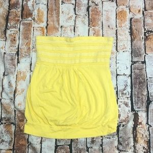Old Navy Sunflower Tube Top Size Xs